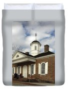 Colonial Williamsburg Courthouse Duvet Cover