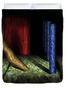 Dali's Columns Duvet Cover