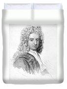 Daniel Defoe (c1659-1731) Duvet Cover