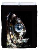 Deep Sea Hatchetfish Duvet Cover