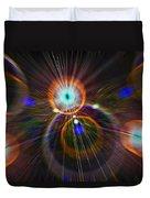 Digital Speed Art Duvet Cover