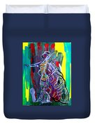 Dinka Lady - South Sudan Duvet Cover