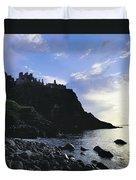 Dunluce Castle, Co Antrim, Ireland Duvet Cover
