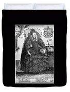 Elizabeth I (1533-1603) Duvet Cover