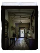 Farmhouse Entry Hall And Stairs Duvet Cover
