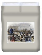 Freedmens Village, 1866 Duvet Cover