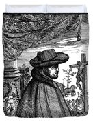 Fr�re Jacques Beaulieu, French Duvet Cover