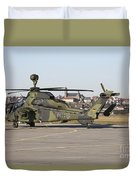 German Tiger Eurocopter At Fritzlar Duvet Cover