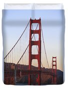 Golden Gate Bridge San Francisco Duvet Cover