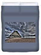 Goscar Rock Tenby Duvet Cover