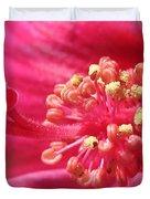 Hibiscus Named Luna Rose Duvet Cover