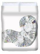 Icicle Cross Section Duvet Cover
