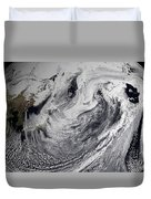 January 2, 2009 - Cloud Simulation Duvet Cover by Stocktrek Images