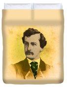 John Wilkes Booth, American Assassin Duvet Cover
