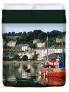 Kinsale Harbour, Co Cork, Ireland Duvet Cover