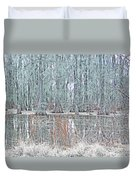 Lake Martin Swamp Duvet Cover