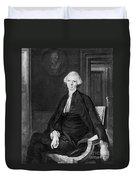 Laurence Sterne (1713-1768) Duvet Cover