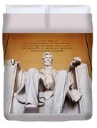 Lincoln Memorial Duvet Cover