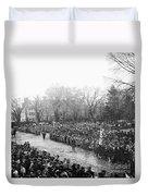 Lincolns Inauguration Duvet Cover
