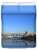 London  Skyline Duvet Cover