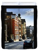 London Street Duvet Cover by Elena Elisseeva