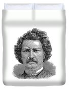 Louis Riel (1844-1885) Duvet Cover