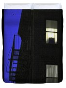 Manhattan After Dark Duvet Cover