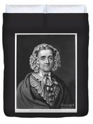 Mary Russell Mitford Duvet Cover