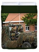 Members Of A Recce Or Scout Team Duvet Cover