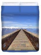 Monte Tamaro Duvet Cover