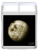 Moon, Apollo 16 Mission Duvet Cover