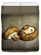 2 Mushrooms Duvet Cover