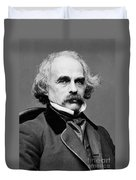 Nathaniel Hawthorne, American Author Duvet Cover