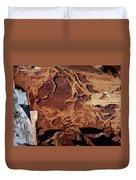 Natural Carvings Duvet Cover