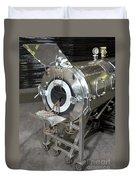 Negative Pressure Ventilator, Iron Lung Duvet Cover