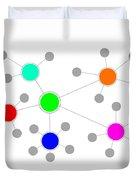 Network Duvet Cover