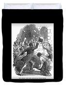 New York: Astor Place Riot Duvet Cover