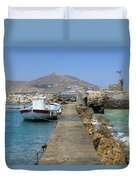 Paros - Cyclades - Greece Duvet Cover