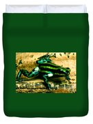 Pasco Poison Frog Duvet Cover