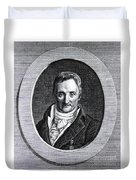 Philippe Pinel, French Physician Duvet Cover by Science Source