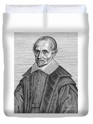 Pierre Gassendi, French Polymath Duvet Cover