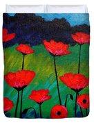 Poppy Corner Duvet Cover