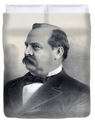 President Grover Cleveland Duvet Cover by International  Images