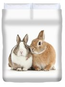 Rabbits Duvet Cover