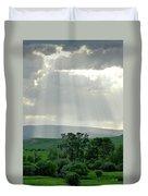Rain Sun Rays Duvet Cover