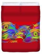 Red Sea Duvet Cover