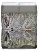 Reflection On Blue Lake, St Bathans Duvet Cover