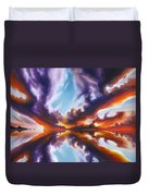 Reflections Of The Mind Duvet Cover