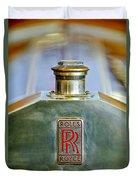 Rolls-royce Hood Ornament Duvet Cover