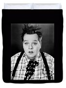 Roscoe Fatty Arbuckle Duvet Cover